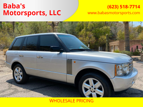 2004 Land Rover Range Rover for sale at Baba's Motorsports, LLC in Phoenix AZ