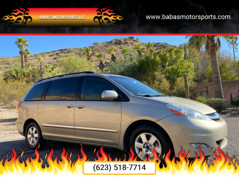 2008 Toyota Sienna for sale at Baba's Motorsports, LLC in Phoenix AZ