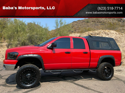 2007 Dodge Ram Pickup 1500 for sale at Baba's Motorsports, LLC in Phoenix AZ