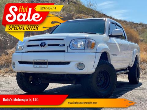 2006 Toyota Tundra for sale at Baba's Motorsports, LLC in Phoenix AZ