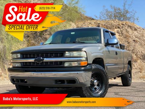 2000 Chevrolet Silverado 1500 for sale at Baba's Motorsports, LLC in Phoenix AZ
