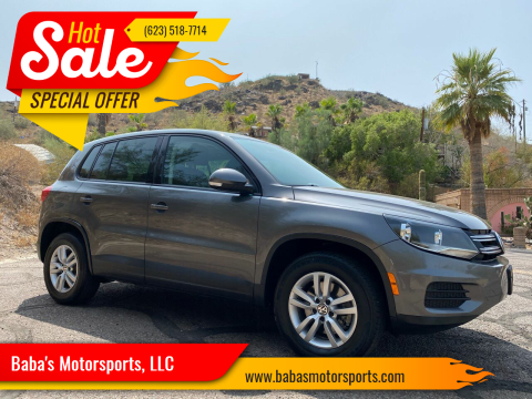 2013 Volkswagen Tiguan for sale at Baba's Motorsports, LLC in Phoenix AZ