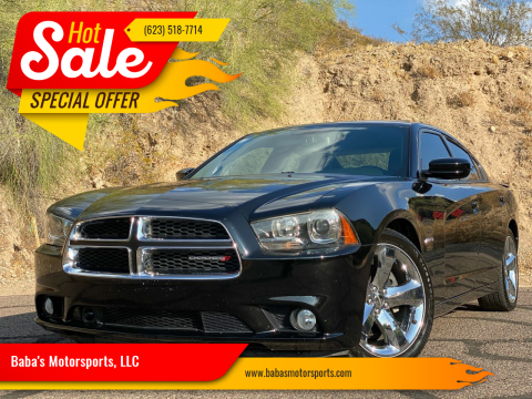 2014 Dodge Charger for sale at Baba's Motorsports, LLC in Phoenix AZ