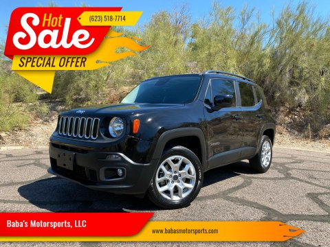 2016 Jeep Renegade for sale at Baba's Motorsports, LLC in Phoenix AZ