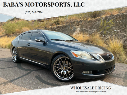 2008 Lexus GS 350 for sale at Baba's Motorsports, LLC in Phoenix AZ