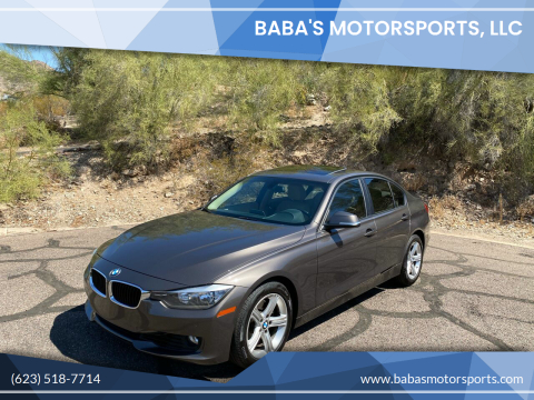 2014 BMW 3 Series for sale at Baba's Motorsports, LLC in Phoenix AZ