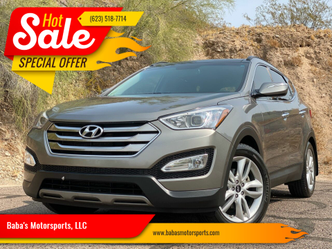 2016 Hyundai Santa Fe Sport for sale at Baba's Motorsports, LLC in Phoenix AZ
