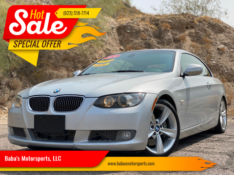 2010 BMW 3 Series for sale at Baba's Motorsports, LLC in Phoenix AZ
