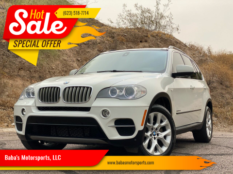 2013 BMW X5 for sale at Baba's Motorsports, LLC in Phoenix AZ