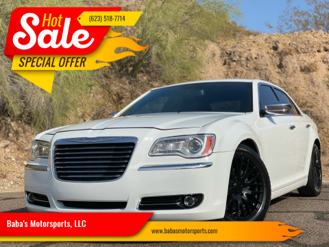 2013 Chrysler 300 for sale at Baba's Motorsports, LLC in Phoenix AZ