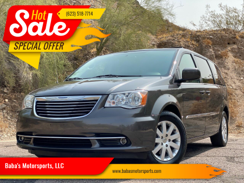 2016 Chrysler Town and Country for sale at Baba's Motorsports, LLC in Phoenix AZ