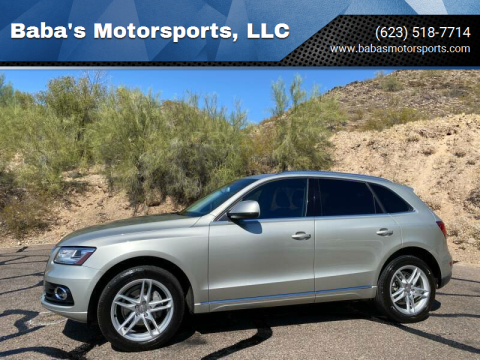 2014 Audi Q5 for sale at Baba's Motorsports, LLC in Phoenix AZ