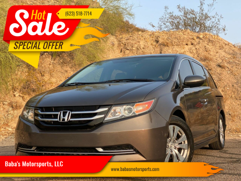 2014 Honda Odyssey for sale at Baba's Motorsports, LLC in Phoenix AZ