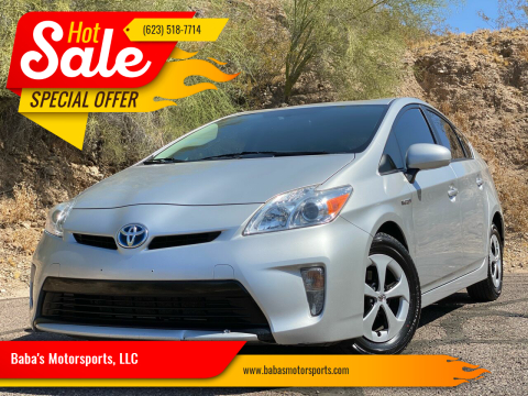 2013 Toyota Prius for sale at Baba's Motorsports, LLC in Phoenix AZ