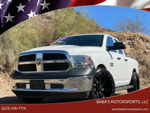 2018 RAM Ram Pickup 1500 for sale at Baba's Motorsports, LLC in Phoenix AZ