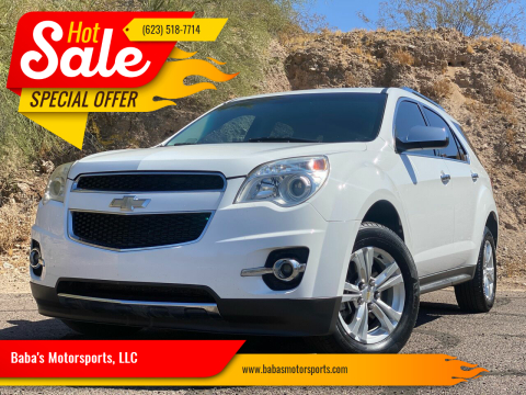 2011 Chevrolet Equinox for sale at Baba's Motorsports, LLC in Phoenix AZ