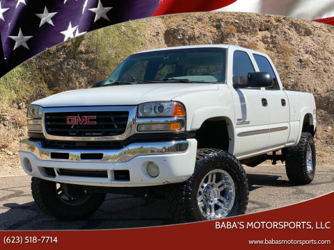 2003 GMC Sierra 2500HD for sale at Baba's Motorsports, LLC in Phoenix AZ