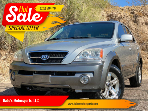 2004 Kia Sorento for sale at Baba's Motorsports, LLC in Phoenix AZ