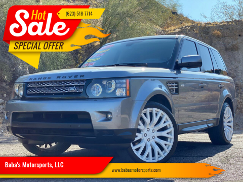 2013 Land Rover Range Rover Sport for sale at Baba's Motorsports, LLC in Phoenix AZ