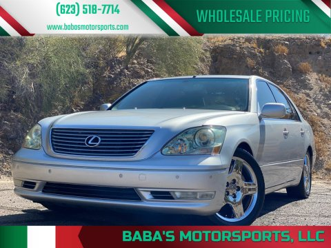 2004 Lexus LS 430 for sale at Baba's Motorsports, LLC in Phoenix AZ
