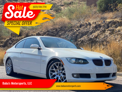 2008 BMW 3 Series for sale at Baba's Motorsports, LLC in Phoenix AZ