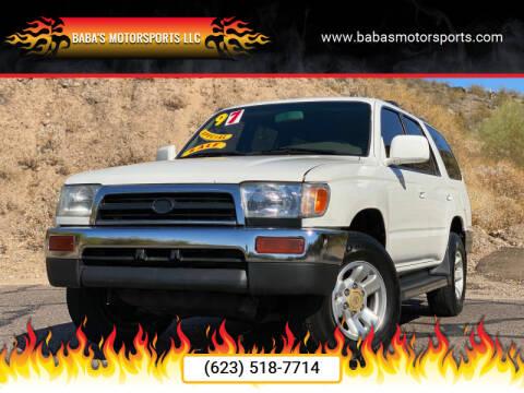 1997 Toyota 4Runner for sale at Baba's Motorsports, LLC in Phoenix AZ