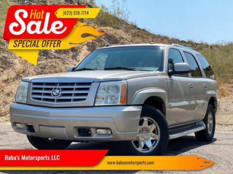 2005 Cadillac Escalade for sale at Baba's Motorsports, LLC in Phoenix AZ