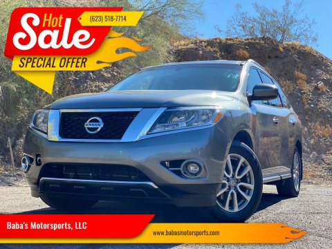 2015 Nissan Pathfinder for sale at Baba's Motorsports, LLC in Phoenix AZ