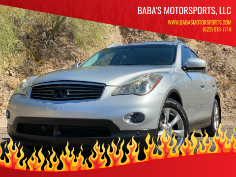2008 Infiniti EX35 for sale at Baba's Motorsports, LLC in Phoenix AZ