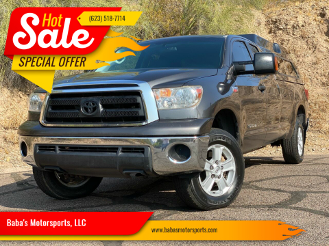2012 Toyota Tundra for sale at Baba's Motorsports, LLC in Phoenix AZ