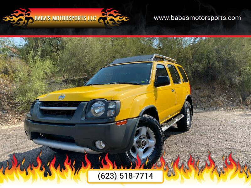 2002 Nissan Xterra for sale at Baba's Motorsports, LLC in Phoenix AZ