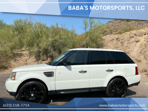 2007 Land Rover Range Rover Sport for sale at Baba's Motorsports, LLC in Phoenix AZ