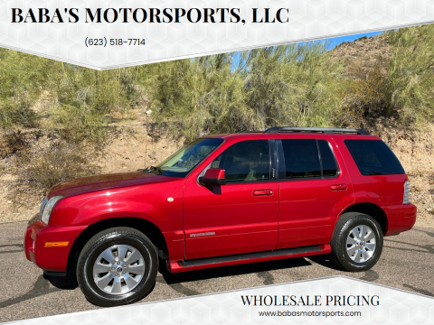 2009 Mercury Mountaineer for sale at Baba's Motorsports, LLC in Phoenix AZ