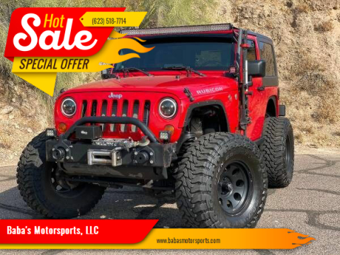 2008 Jeep Wrangler for sale at Baba's Motorsports, LLC in Phoenix AZ
