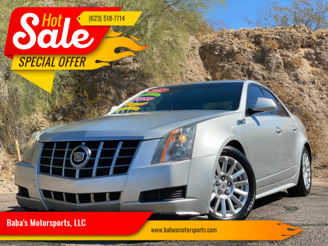 2012 Cadillac CTS for sale at Baba's Motorsports, LLC in Phoenix AZ