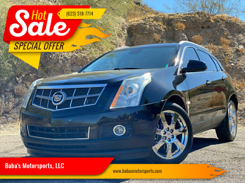2012 Cadillac SRX for sale at Baba's Motorsports, LLC in Phoenix AZ