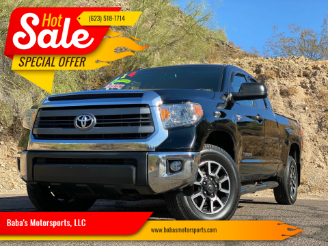 2014 Toyota Tundra for sale at Baba's Motorsports, LLC in Phoenix AZ