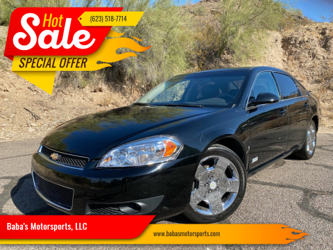 2008 Chevrolet Impala for sale at Baba's Motorsports, LLC in Phoenix AZ
