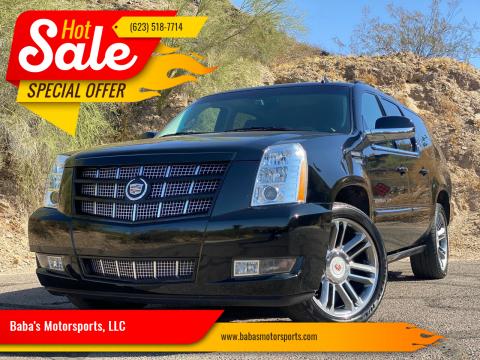 2013 Cadillac Escalade ESV for sale at Baba's Motorsports, LLC in Phoenix AZ