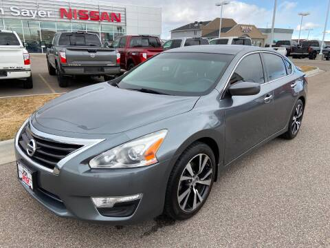 2014 Nissan Altima 2.5 SV for sale at RON SAYER NISSAN in Idaho Falls ID