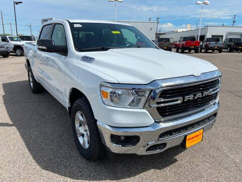2020 RAM Ram Pickup 1500 Big Horn for sale at RON SAYER CHRYSLER DODGE JEEP RAM in Idaho Falls ID