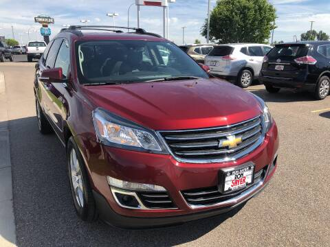 2016 Chevrolet Traverse LTZ for sale at RON SAYER CHRYSLER DODGE JEEP RAM in Idaho Falls ID