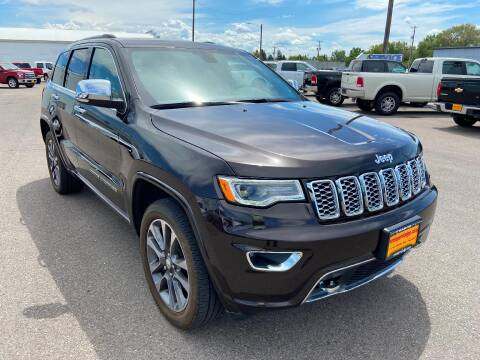 2017 Jeep Grand Cherokee Overland for sale at RON SAYER CHRYSLER DODGE JEEP RAM in Idaho Falls ID