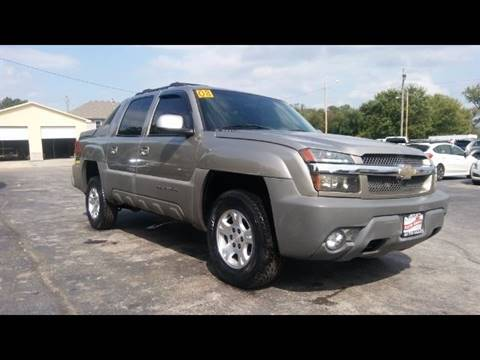 2002 Chevrolet Avalanche for sale in Leavenworth KS