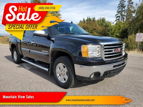 2013 GMC Sierra 1500 for sale at Mountain View Sales in Lolo MT