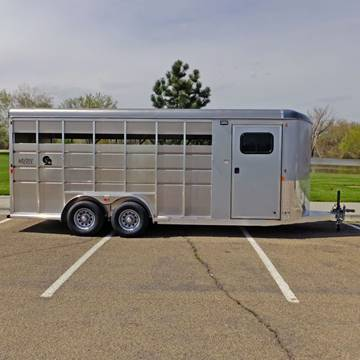 2021 Maverick 4 Horse Lite for sale at Mountain View Sales in Lolo MT