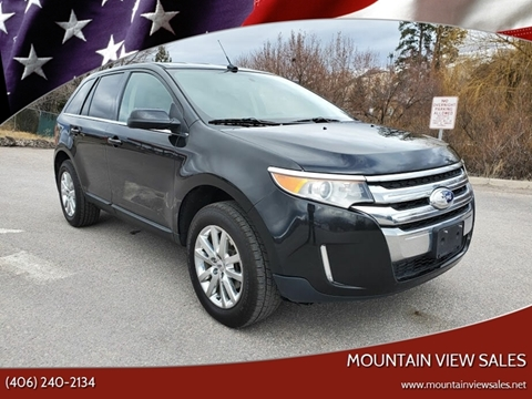 2013 Ford Edge for sale at Mountain View Sales in Lolo MT
