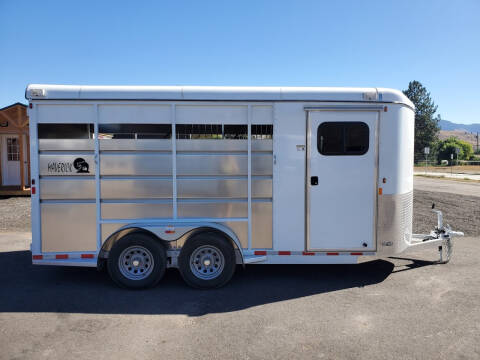 2021 Maverick 3 Horse Trailer for sale at Mountain View Sales in Lolo MT