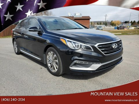 2015 Hyundai Sonata for sale at Mountain View Sales in Lolo MT