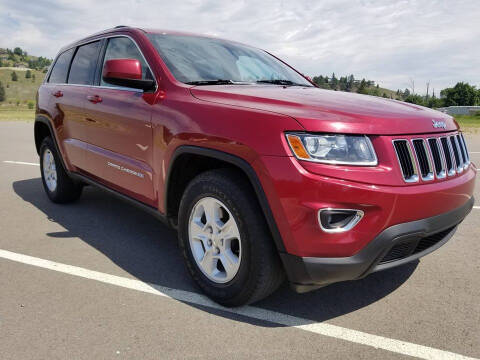 2014 Jeep Grand Cherokee Laredo for sale at Mountain View Sales in Lolo MT